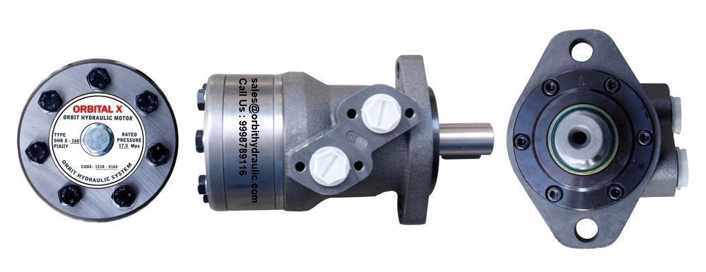 ORBITAL X Hydraulic Motor OHR X 50, OHR X 80, OHR X 100, OHR X 125, OHR X 160, OHR X 200, OHR X 250, OHR X 315, OHR X 400 Hydraulic Motor in India