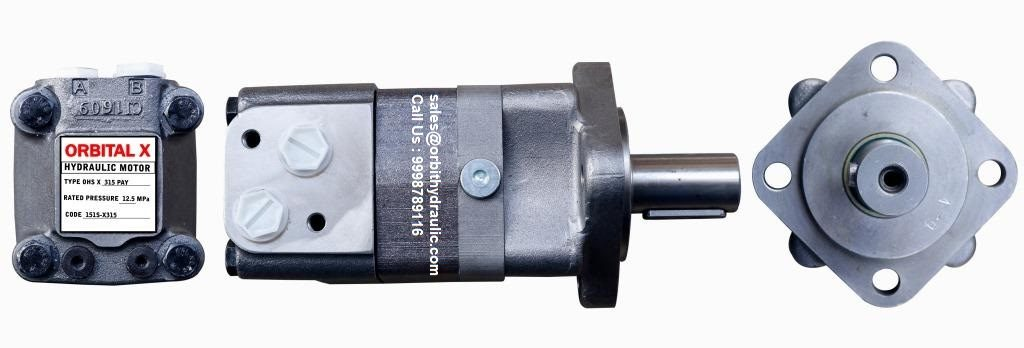 ORBITAL X® Hydraulic Motor OHS of OHS80, OHS100, OHS125, OHS160, OHS200, OHS250, OHS315, OHS400, OHS500 ORBIT Hydraulic Motor India